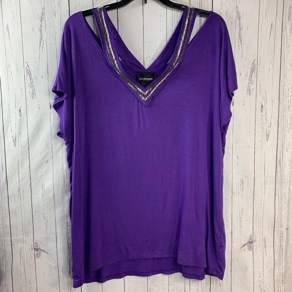 ccb05831c02107 Lane Bryant blouse plus size 18 20 NWT